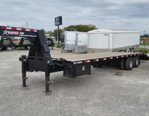 Kiefer Gooseneck Trailer