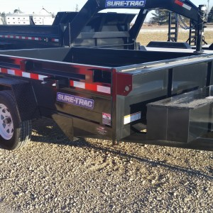 Sure-Trac Small Dump Trailer